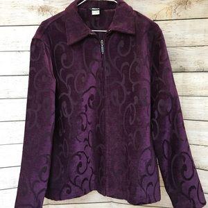 ALIA Zippered Jacket